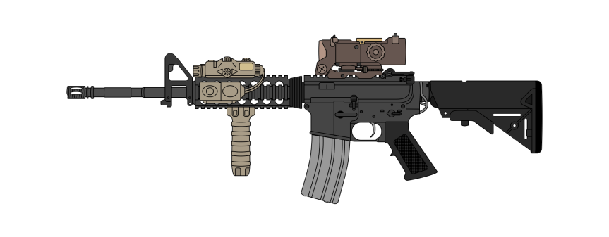 tiny crumb edc morale patch for your range bag M4A1 Phased Replacement  MK 17 MOD 0 CQC PATCH 2.png