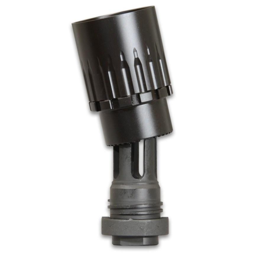 yankee hill machine adaptable blast deflector blast sheild for dead air griffin armament redirector sleeve linear comp for q plan b 2