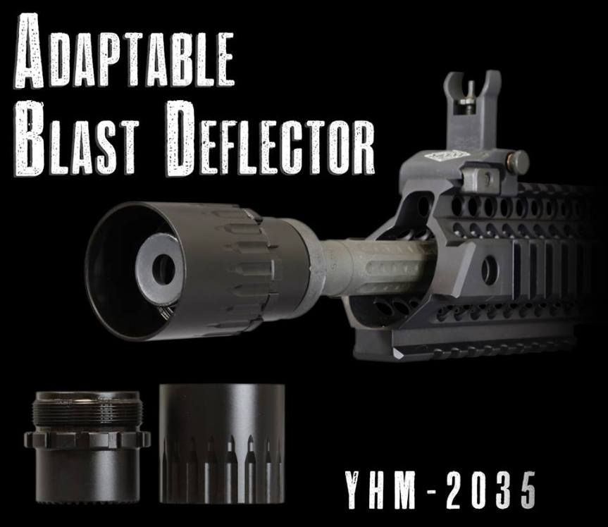 yankee hill machine adaptable blast deflector blast sheild for dead air griffin armament redirector sleeve linear comp for q plan b  a.jpg
