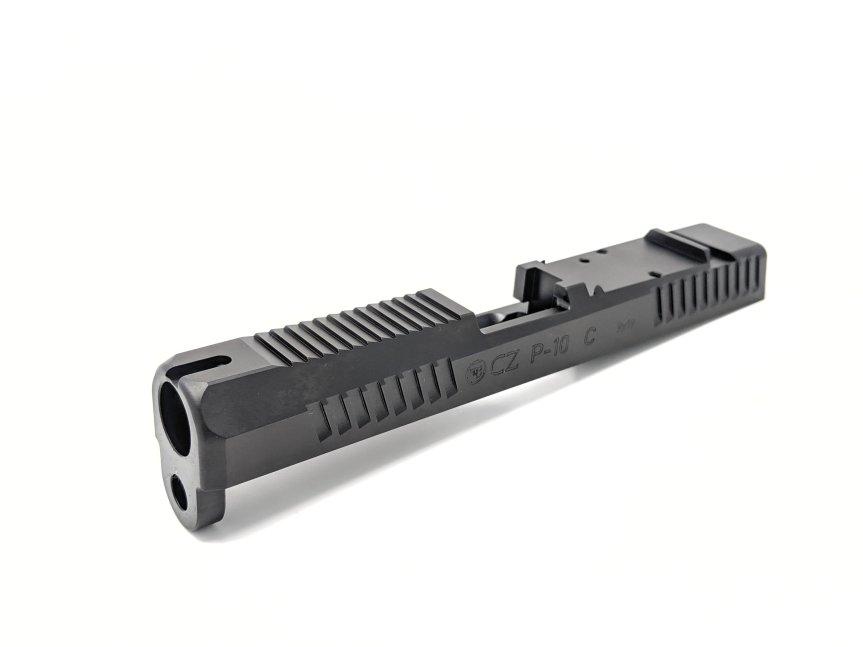 kill shot precision cz p10c custom slide work rmr cut on the p10c red dot sight 2.jpeg
