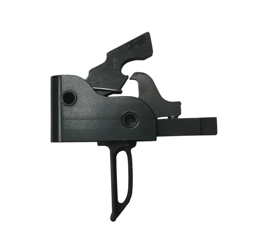 palmetto state armory PSA CUSTOM AR 3.5 LBS. MATCH GRADE SINGLE-STAGE DROP-IN TRIGGER, FLAT - 116055 ar15 replacement trigger flat trigger pinch your finger  1.jpg