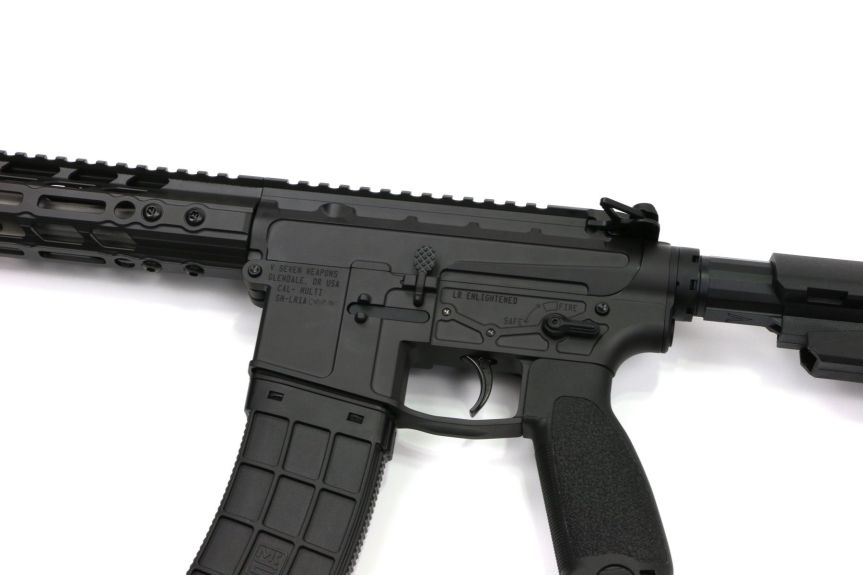 v seven weapon systems 10.25 lr enlightended 300 blackout pistol ar15 chambered in 300 blackout for hunting  1.jpeg