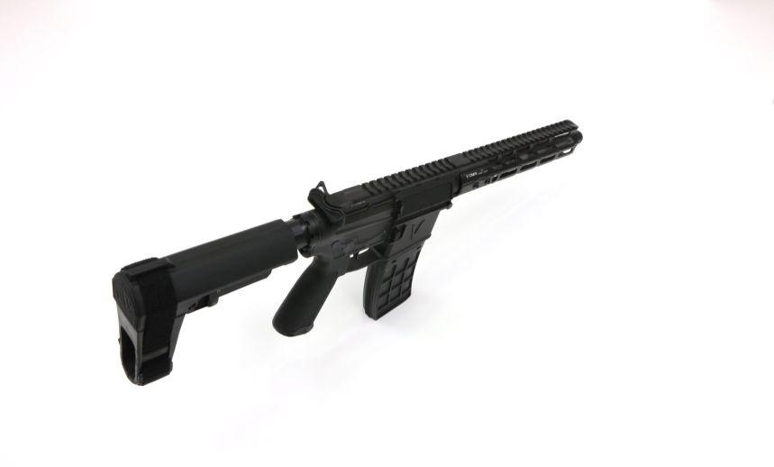v seven weapon systems 10.25 lr enlightended 300 blackout pistol ar15 chambered in 300 blackout for hunting