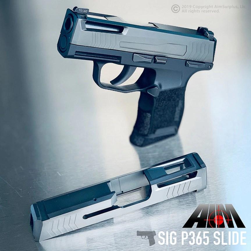 aim  surplus sig sauer p365 custom slide stainless steel sig p365 slide cuts for optic p365 red dot  1.jpg