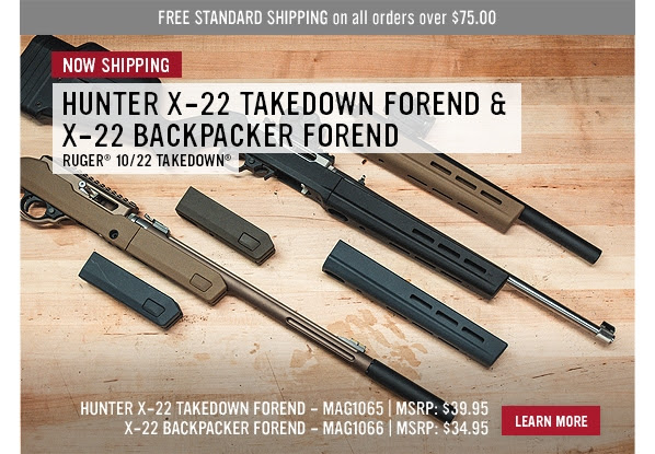magpul industries x-22 backpackacker foend x-22 takedown forend MAG1065 MAG1066 1.jpg