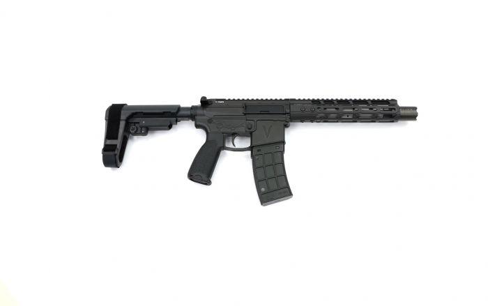v seven weapon system 8.5 lr enlightened ar pistol 5.56 pistol 3