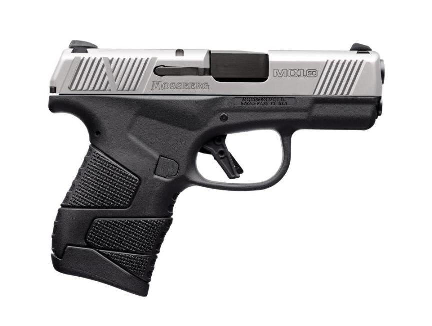 o.f. mossberg and sons mc1sc stainless steel mc1sc two tone mc1sc with safety mossberg takes glock mags 1