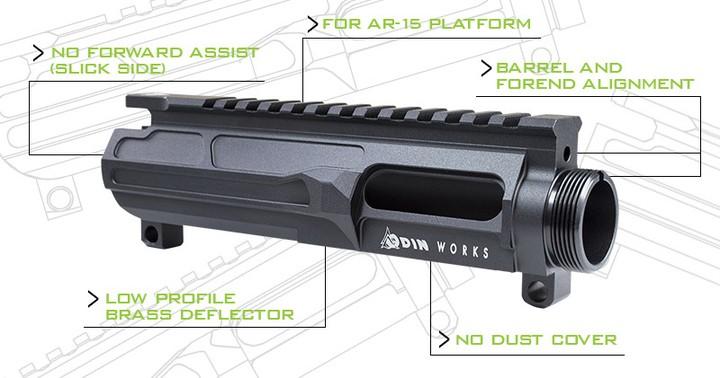 odin works 9mm billet upper receivers ar-9 1