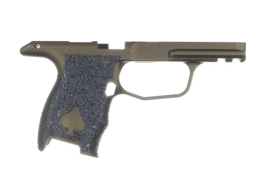 talon grips icarus precision ace p365 grip frame aluminum grip frame module 1