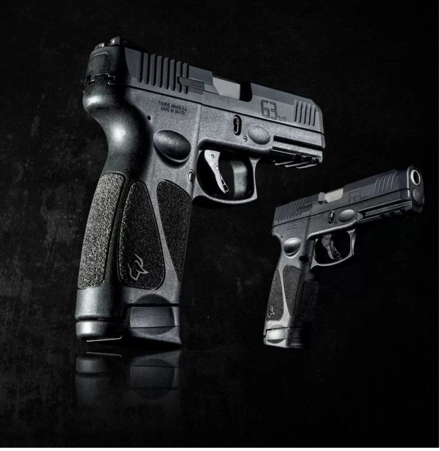 taurus usa g3 full size striker fired pistol 17 round capacity duty pistol from taurus 9mm handgun 4
