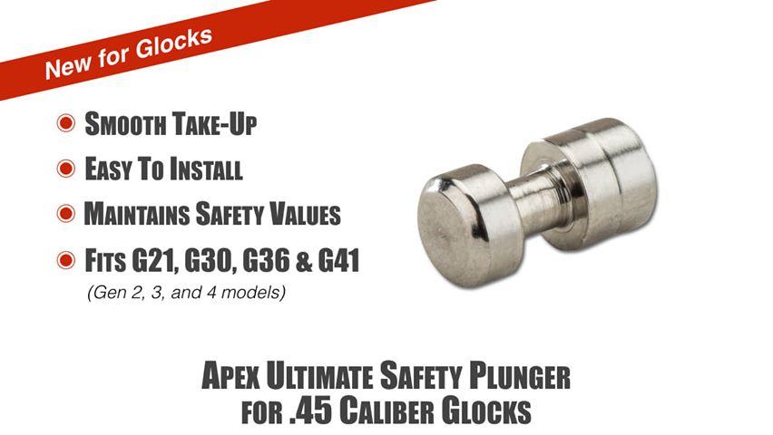apex tactical glock plunger for large frame apex ultimate safety plunger 2