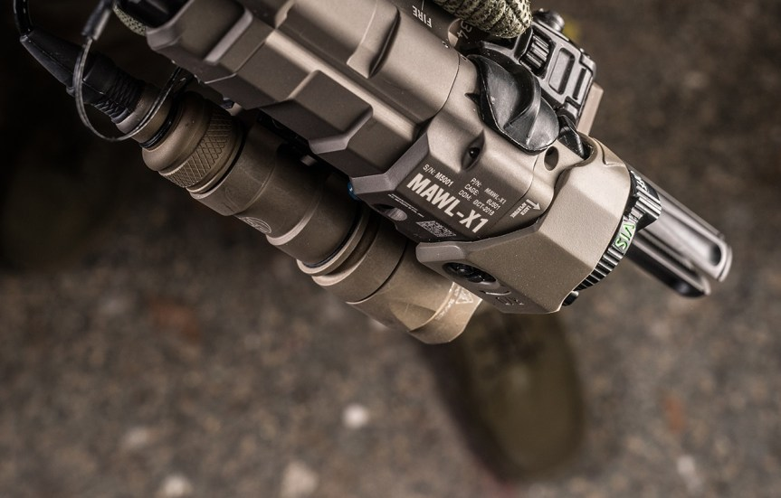 b.e. meyers and company mawl-xi laser sighting system weapon laser ar15 laser 1