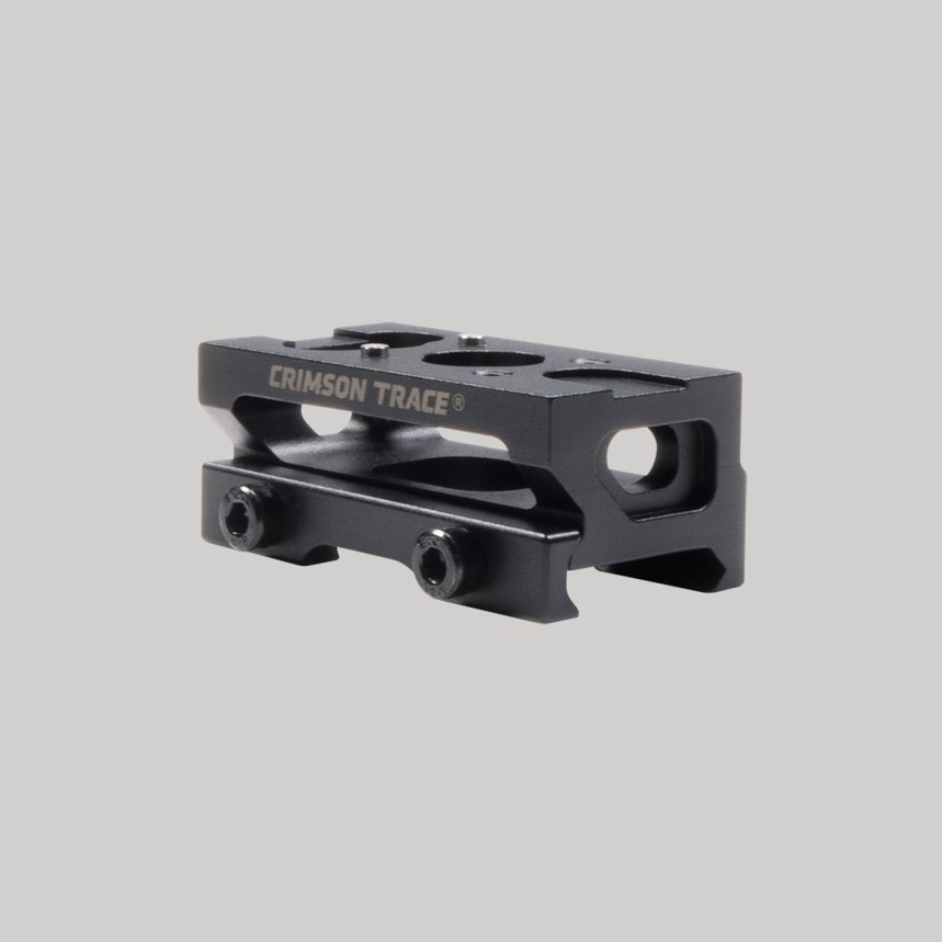 crimson trace cts-1400 reflex red dot sight 1 3 cowitness absolute cowitness mount picatinny red dot mount