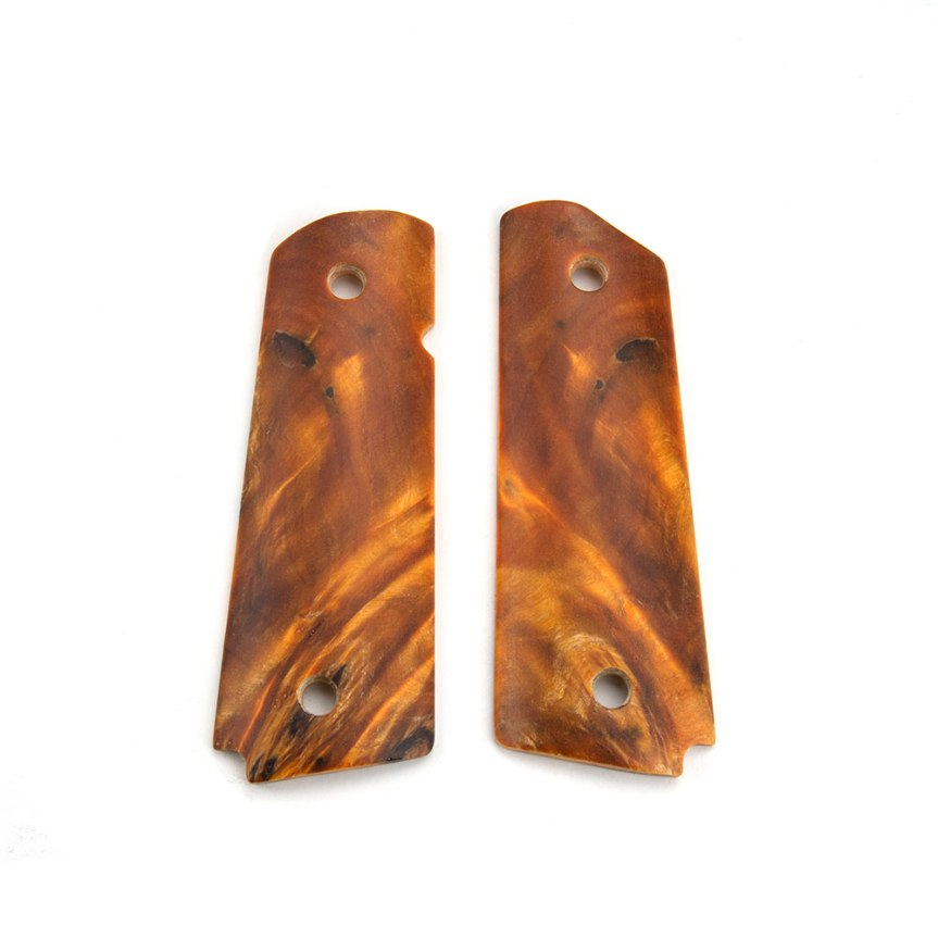 ed brown products poplar burl 1911 grips 45-POPL fine wood custom 1911 grip panels  1.jpg
