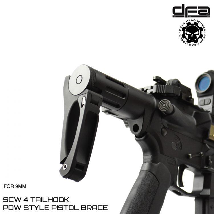 gear head works dead foot arms scw 2.5 tailhook pistol bracke scw 4 tailhook Modified Cycle System 4