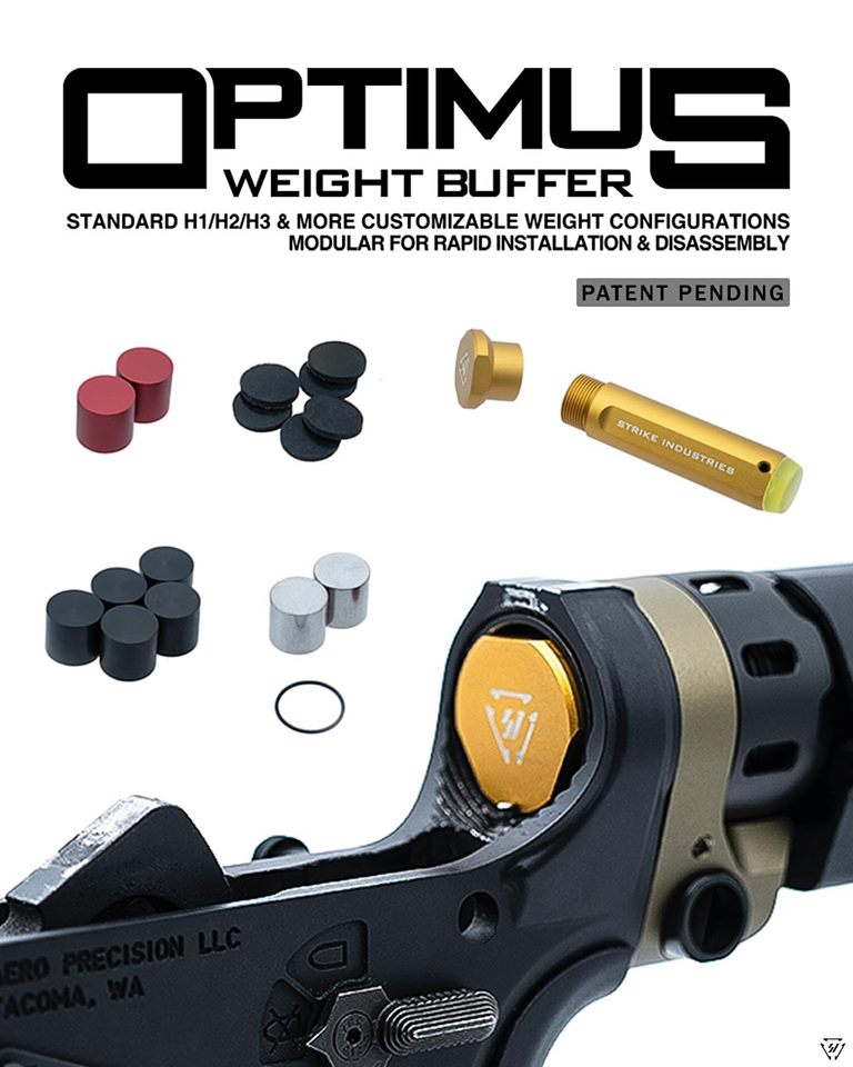 strike industries ar15 buffer system optimus buffer for the ar timing issues not the gas SI-AR-OPTIMUS-WB 1