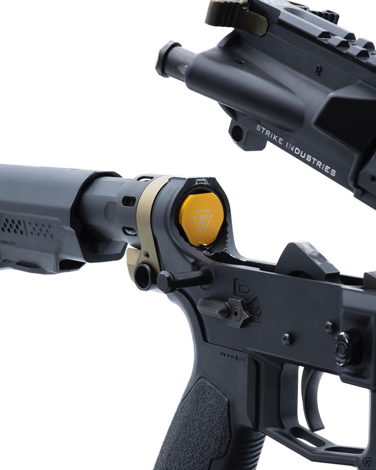 strike industries ar15 buffer system optimus buffer for the ar timing issues not the gas SI-AR-OPTIMUS-WB 3