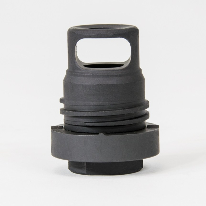 yankee hill machine phantom qd muzzle brake .350 bore muzzle brake most compact muzzle device 3