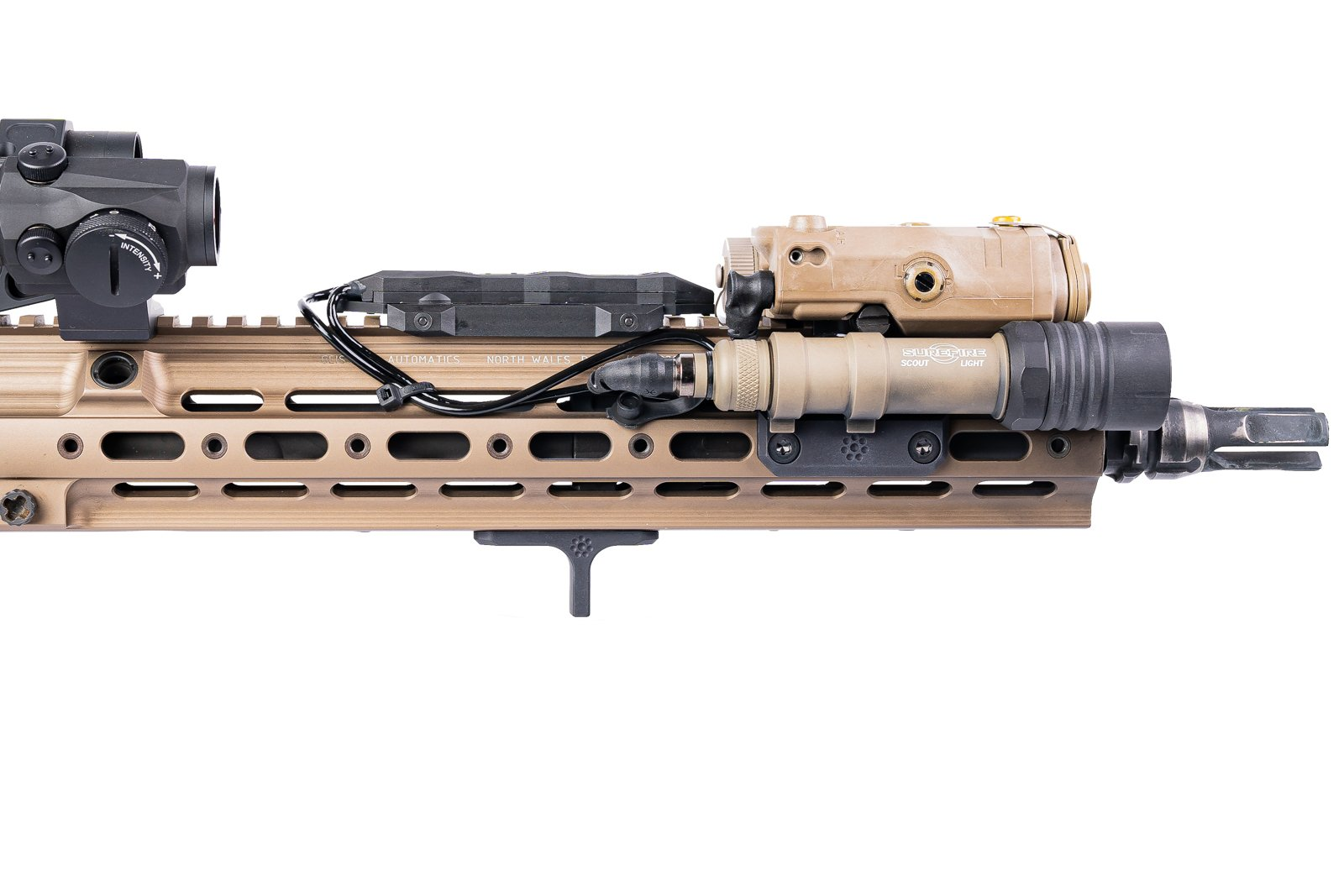 ARISAKA DEFENSE DEBUTS THE INDEXER FOR GEISSELE SMR 416 HANDGUARDS