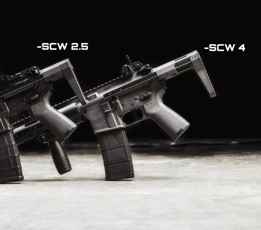 dead foot arms scw 2.5 scw 4 pdw stocks shortest ar15 stock  1.jpg