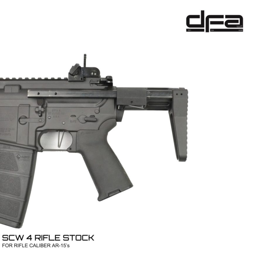 dead foot arms scw 2.5 scw 4 pdw stocks shortest ar15 stock  aa.jpg