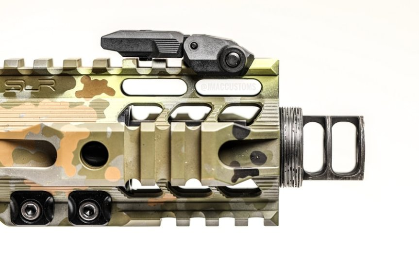 jmac customs rrd-2c x12 muzzle brake supressor mount 7