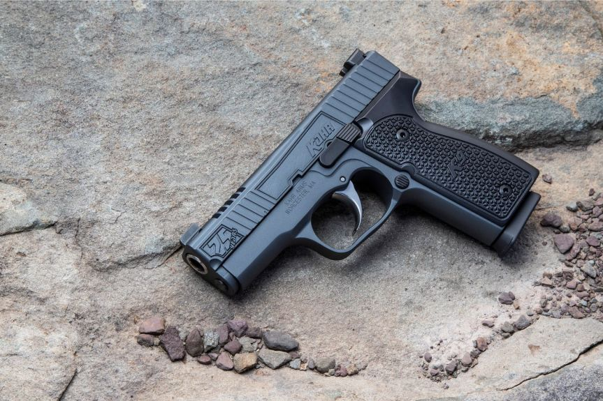 kahr arms 24th anniversary k9 pistol slim 9mm single stack conceal carry gun 1