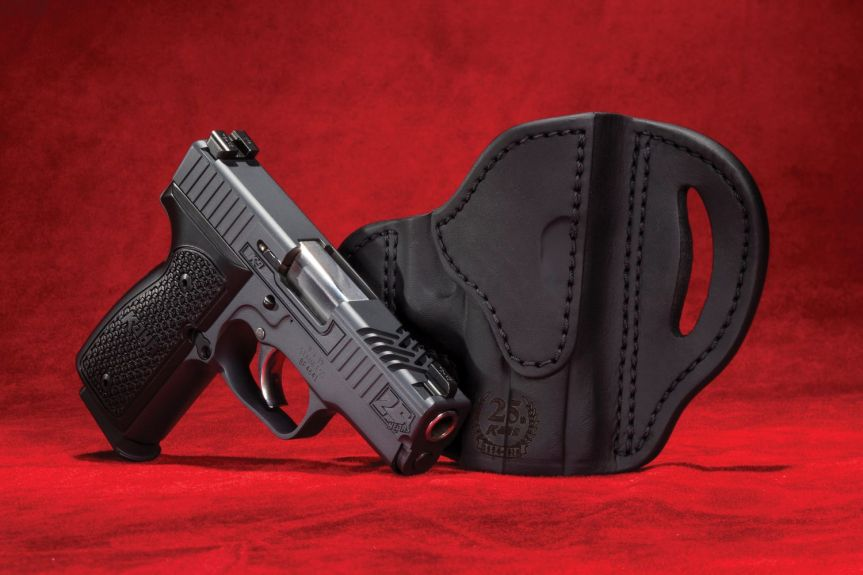 kahr arms 24th anniversary k9 pistol slim 9mm single stack conceal carry gun 2