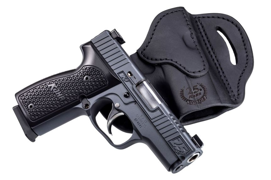 kahr arms 24th anniversary k9 pistol slim 9mm single stack conceal carry gun 4