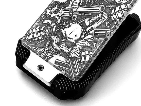 scudo wallets vector billet aluminum wallet edc wallet