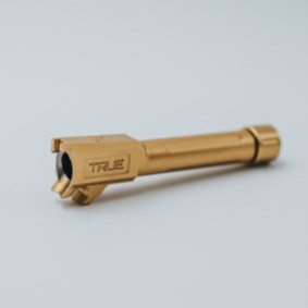 true precision sig sauer p365 xl threaded barrels p365 tin gold barrels threaded