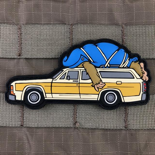 violent little machine shop harry and the hendersons station wagon morale patch  1.jpg