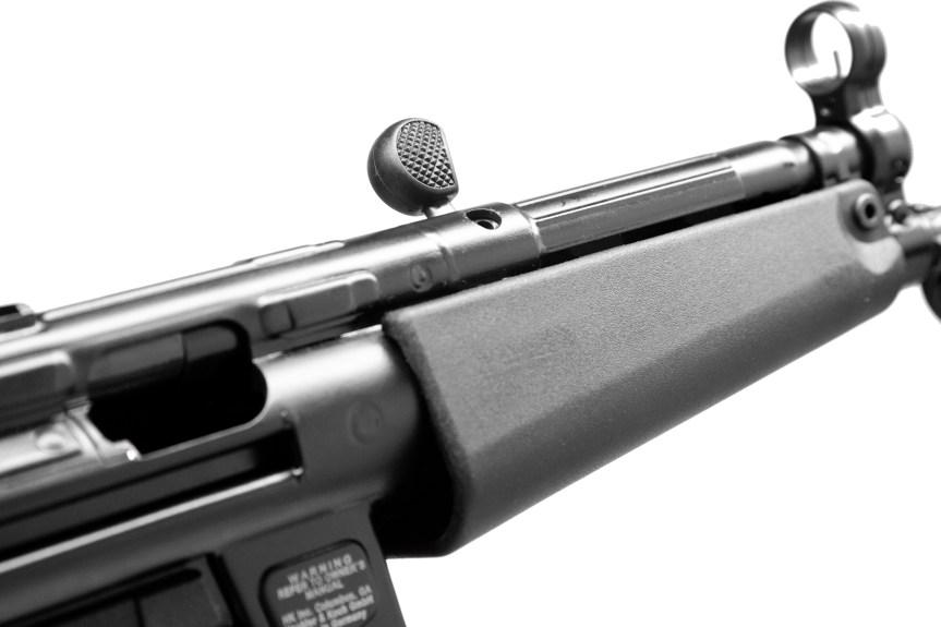 heckler koch hk sp5 9mm roller delayed blowback mp5 4