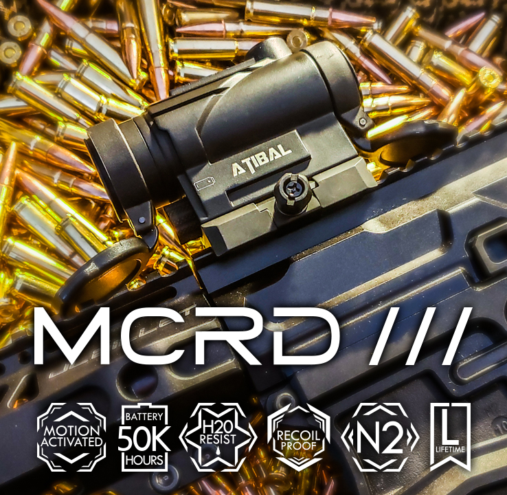 atibal optics mcrd iii red dot ar15 sight 1
