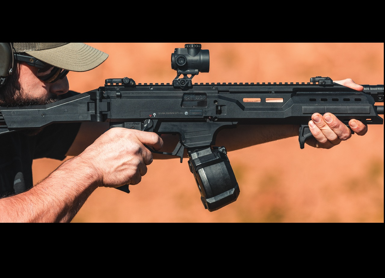 MAGPUL INDUSTRIES SHOWS SUPPORT FOR THE CZ SCORPION EV9 WITH THE PMAG D-50 EV9 DRUM MAGAZINE