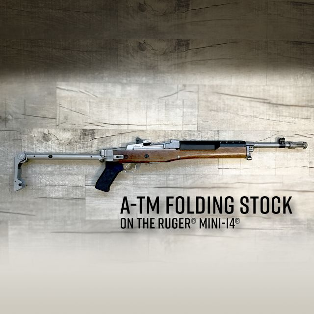 samson manufacturing a-tm folding stock ruger mini-14 1