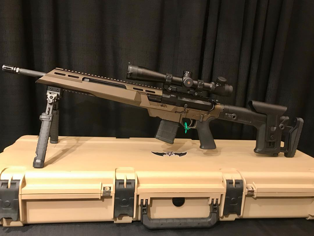 DRAKE ASSOCIATES DEBUTS THE ATHENA PRECISION CHASSIS TACTICAL RIFLE
