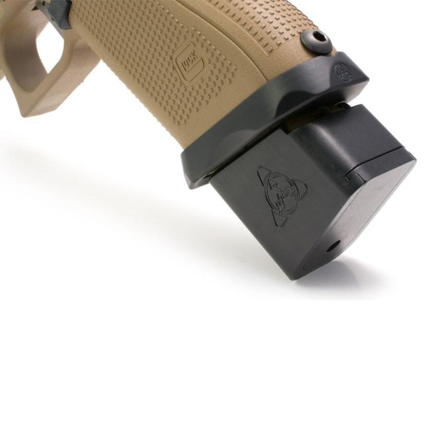 suarez international plus 5 magazine extensions glock extendo 1q