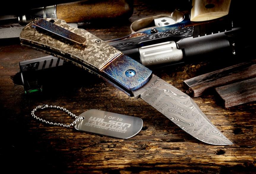wilson combat damascus combat clip michael vagnino custom alliance knife 2