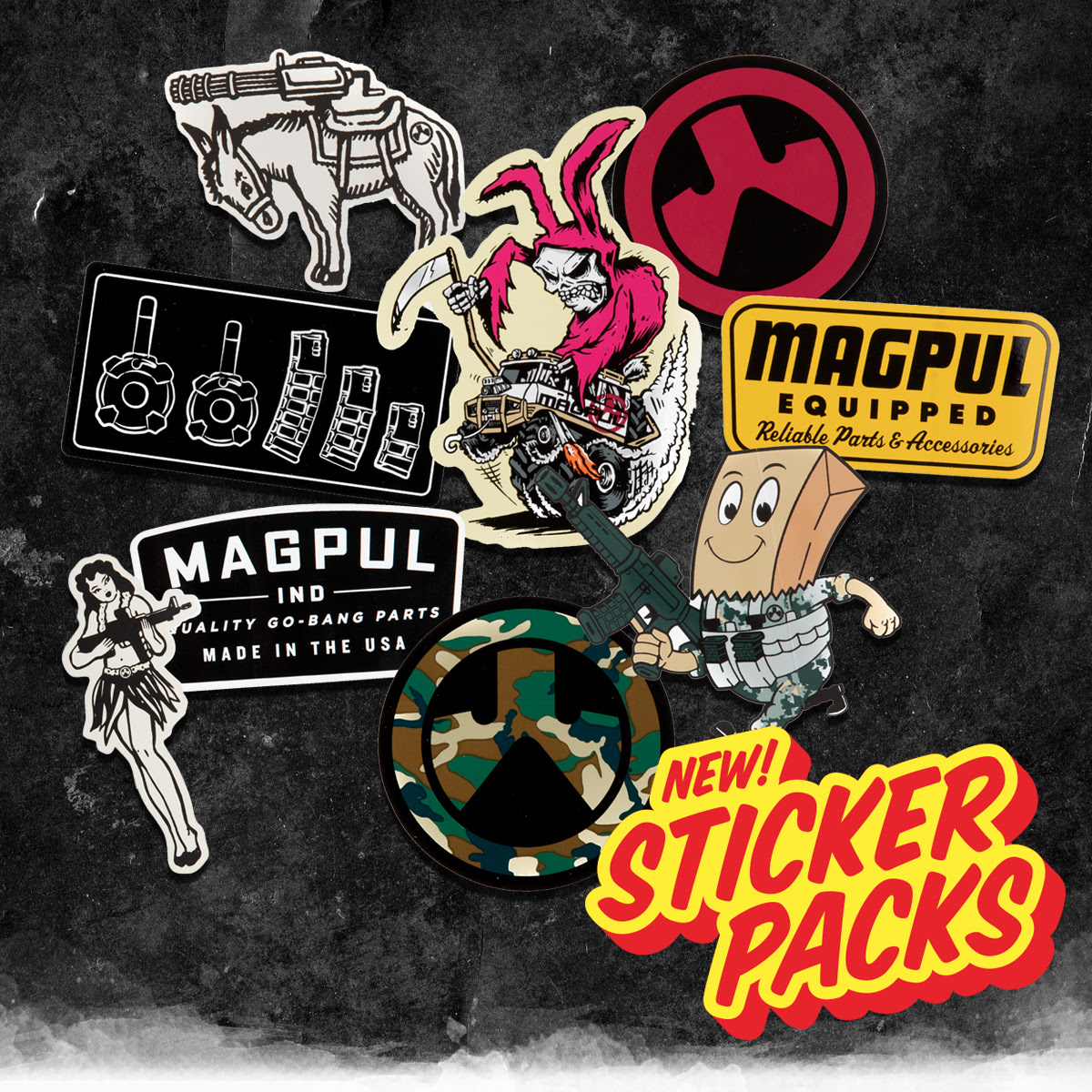 MAGPUL INDUSTRIES RELEASES NEW MAGPUL STICKER PACKS