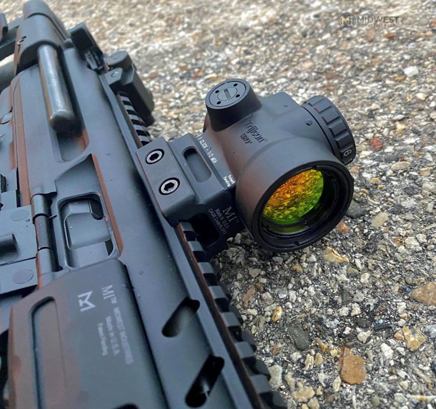 midwest industries non qd optic mounts mro aimpoint trijicon mount 1