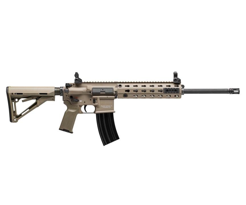 heckler and koch hk mr556a1 fde rifle ar-15 ar15 m4 hk rifle 1