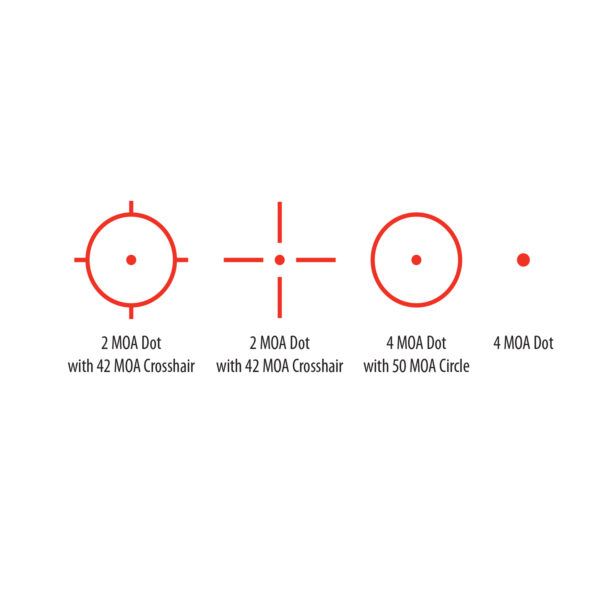 bsa optics reflex red dot sight with laser 33mmx24mm RS-3324RL-001 2