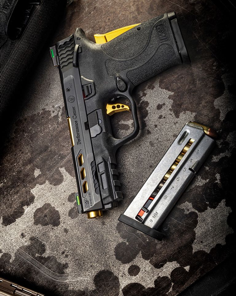smith and wesson performance center mp 9 shield ez 9mm ccw 2