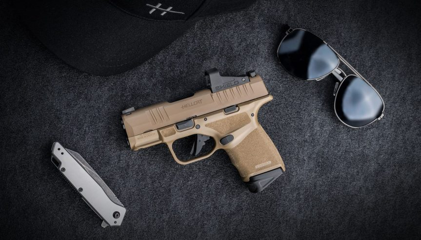 springfield armory desert fde hellcat pistol 9mm HC9319F HC9319FOSP a
