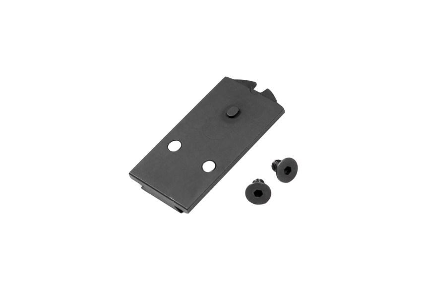 tangodown trijicon acro sig p320 acro slide cut 320 slide plate adapters 5