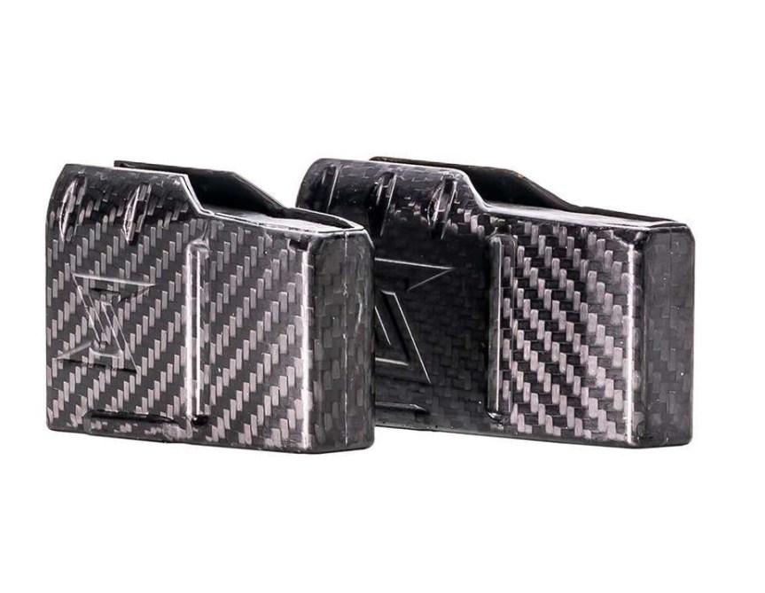 seekins precision havak carbon fiber magazines 6.5 prc long action light weigth magazines 3 round mags a