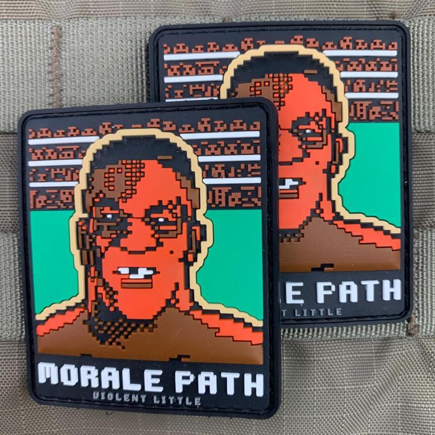 violent little machine shop mike tyson morale patch range bag 2
