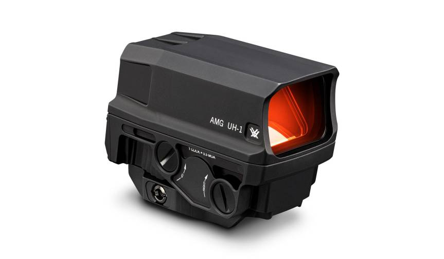 vortex optics amg uh-1 gen ii holographic weapon sight 5