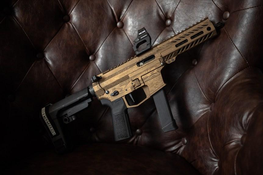 anstadt arms udp-9 ar-9 pistol pcc pistol caliber carbine 9mm 1